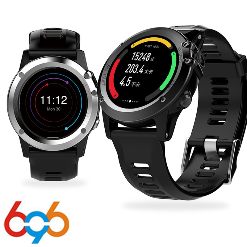 696 H1 smart Watch MTK6572 IP68 Waterproof 1.39inch 400*400 GPS Wifi 3G Heart Rate 4GB+512MB smartwatch For Android IOS Camera 5 все цены