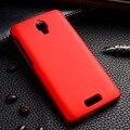 Recubierto de aceite de teléfono fundas estuches para lenovo s660 s668t 4.7 pulgadas S 660 casos cubre Utral Luz de Cubierta Protectora de Plástico de nuevo cubre