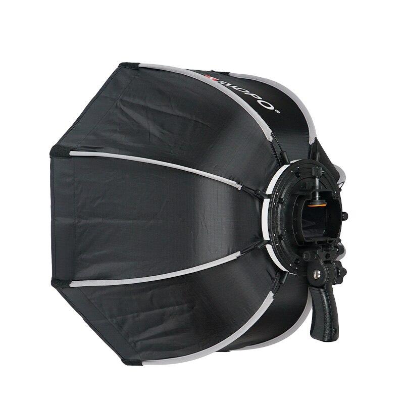 TRIOPO 65 cm plegable Softbox octogonal de caja w/Mango para Godox Yongnuo Speedlite luz Flash de estudio de fotografía Accesorios - 4