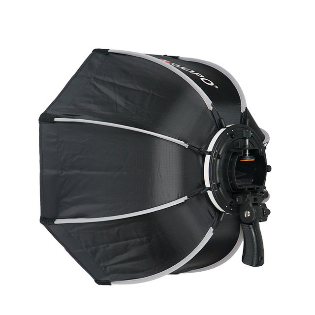 TRIOPO 65cm Foldable Softbox Octagon Soft box w/Handle for Godox Yongnuo Speedlite Flash Light photography studio accessories 3