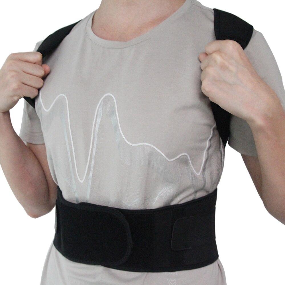 Magnética volver postura cinturón para hombres enderezadora trasera Brace cinturón Correcteur De postura ayuda Lumbar