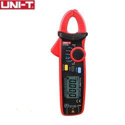 UNI-T UT210D الرقمية المشبك متر صحيح RMS الجهد المقاومة السعة المتعدد قياس درجة الحرارة السيارات المدى الكهربائية
