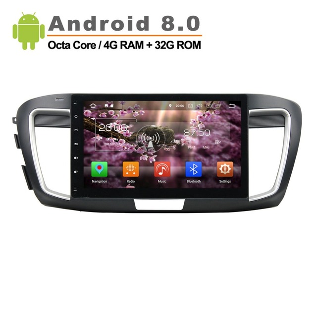 """10.1"""" Android 8.0 Car Radio for Honda Accord 2013-2015 Car GPS Navigation Audio Video player wifi Rom 32G with canbus"""