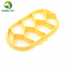 Fondant Cake Decorating Tools DIY Embossed Plastic Cookie Cutter Baking Pastry Cutters Cupcake Decoration Biscuit Mold