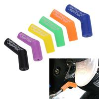 Universal Motorcycle Gear Shift Shifter Lever Boot Shoe Protector Cover Rubber Gear Lever Notch Shift Case Replacement Part