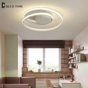 Image 5 - الثريا الحديثة لغرفة المعيشة غرفة نوم غرفة الدراسة أبيض أسود اللون سطح شنت الثريات تسليم أضواء ديكو AC85 265V