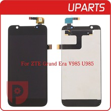 High Quality For ZTE Grand Era V985 U985 LCD Display Touch Screen Glass Digitizer Assembly Replacement