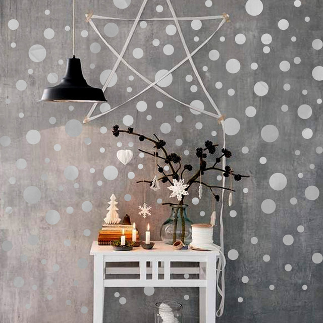 Polka Dot Wall Stickers Home Decor Polka Dot Art Wall Decals Circle Decals  DIY Wall Stickers