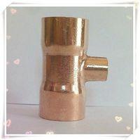 54x67x54 mét Copper End Thức Ăn Reducer Tee 3 Way Ống Lắp Hệ Thống Nước cho dầu khí nước