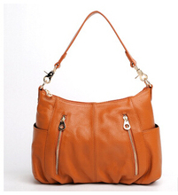 Fashion Real Genuine Leather Women Leather Handbags 100 Natural Cowhide Shoulder Bags Usefull Crossbody Bag Ladies