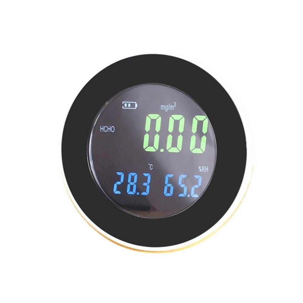 Portable Formaldehyde Detector Analyzer Digital Tester 3 in 1 Gas Leak Measure Temperature Humidity display