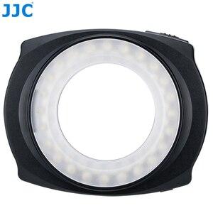 Image 2 - JJC LED Flash Macro Ring  Light Speedlite for DSLR Macro Lens Includes Adapter Ring 49mm 52mm 55mm 58mm 62mm 67mm Step Ring