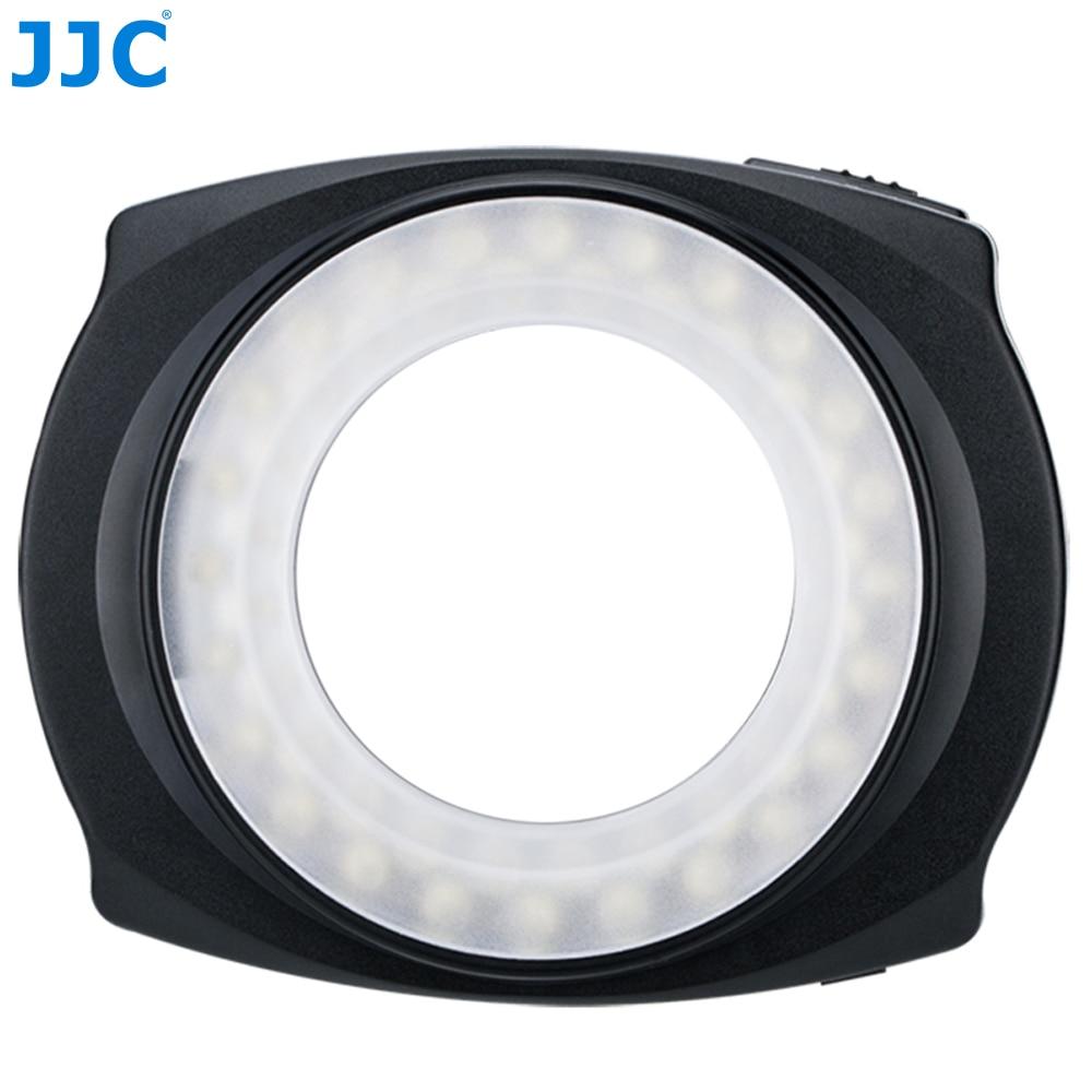 JJC Photography Camera LED Flash Left/Right Half Whole Video Speedlite Macro Ring Light for NIKON/CANON/SONY/PENTEX/OlympusJJC Photography Camera LED Flash Left/Right Half Whole Video Speedlite Macro Ring Light for NIKON/CANON/SONY/PENTEX/Olympus