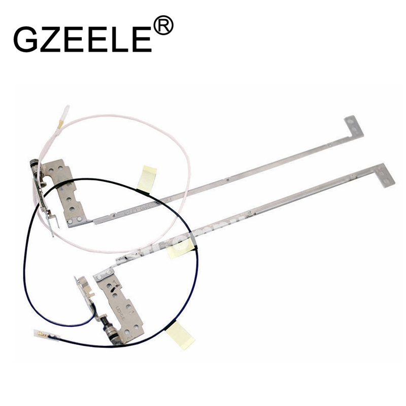 GZEELE New Laptop LCD Hinges For Lenovo IdeaPad U310 With Cable 1 Pair (Left & Right) Touch Laptop LZ7-L LZ7-R