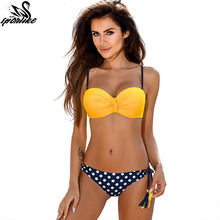 Sexy Bikinis Women Swimsuit 2019 Summer Low Waisted Bathing Suits Halter Top Push Up Bikini Set Plus Size Swimwear XXL