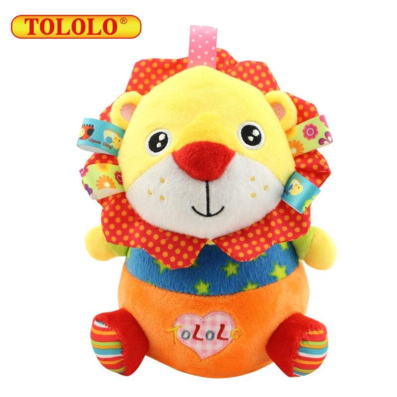 Animal Tumbler Plush Toys 0-1-3 Year Old Infant Fun Shake Doll