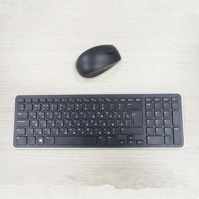Russian Keyboard Wireless Keyboard And Mouse Set For Dell Desktop