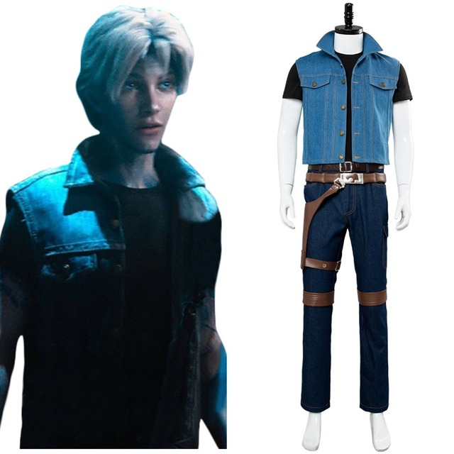 2018 Movie Ready Player One Cosplay Costume Wade Watts