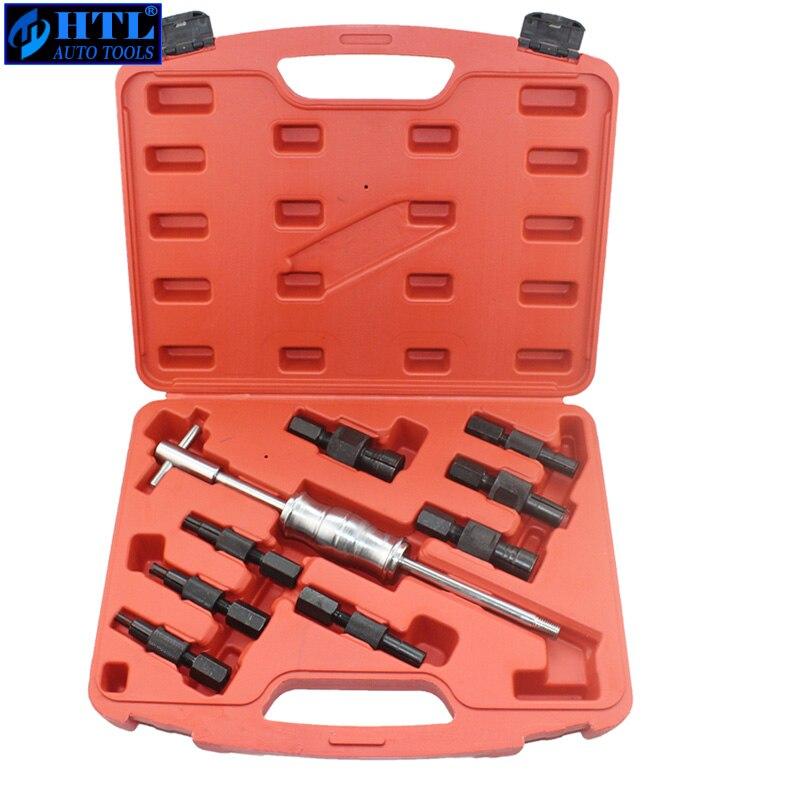 9 pcs Aveugle Extracteur de Roulement Intérieur Kit D'outils De Suppression De Roulement Installateur Outil Ensemble (8mm, 10mm, 12mm, 15MM ..)
