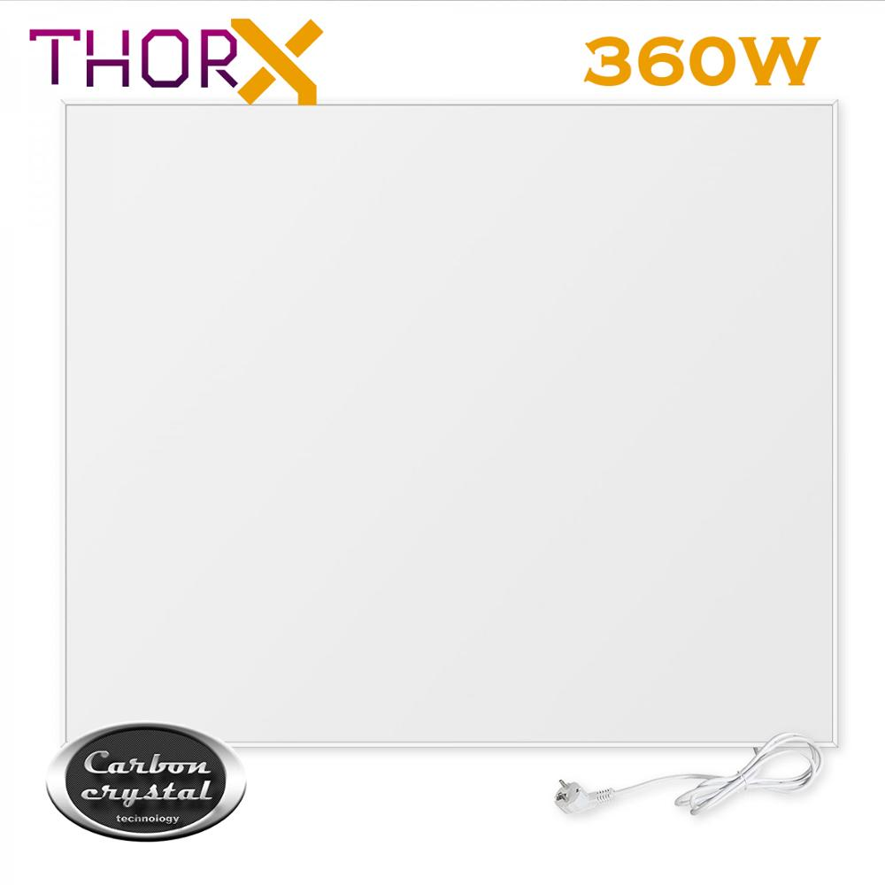 ThorX KC360 360W Watt 120x30 Cm Infrared Heater Heating Panel Heater With Carbon Crystal Technology Mounted On The Ceiling