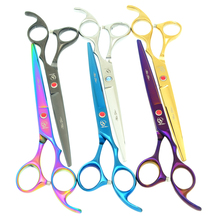 Meisha 7 inch Professional Pet Scissors Dog Grooming Cutting Animals Clippers Trimming Dogs Shears HB0085