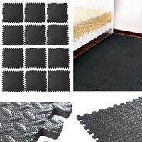 8 PCS/Sets 60*60cm Car High Density EVA Interlocking Eva Foam Mats Pads Tiles Gym Play Workshop Floor Mat