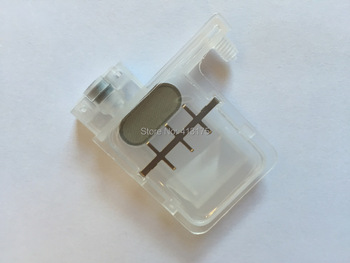50pcs transparent big damper with square type for Wit Color Infinity Xenons DX5 printhead printer use for 4mm*3mm connector