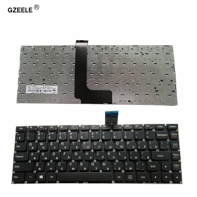 GZEELE new for LENOVO M490S M4400S B4400S B4450S B490S M495S series RU layout russian laptop keyboard black color without frame laptop keyboard for clevo p170sm p170sm a p177sm p177sm a black without frame portuguese po