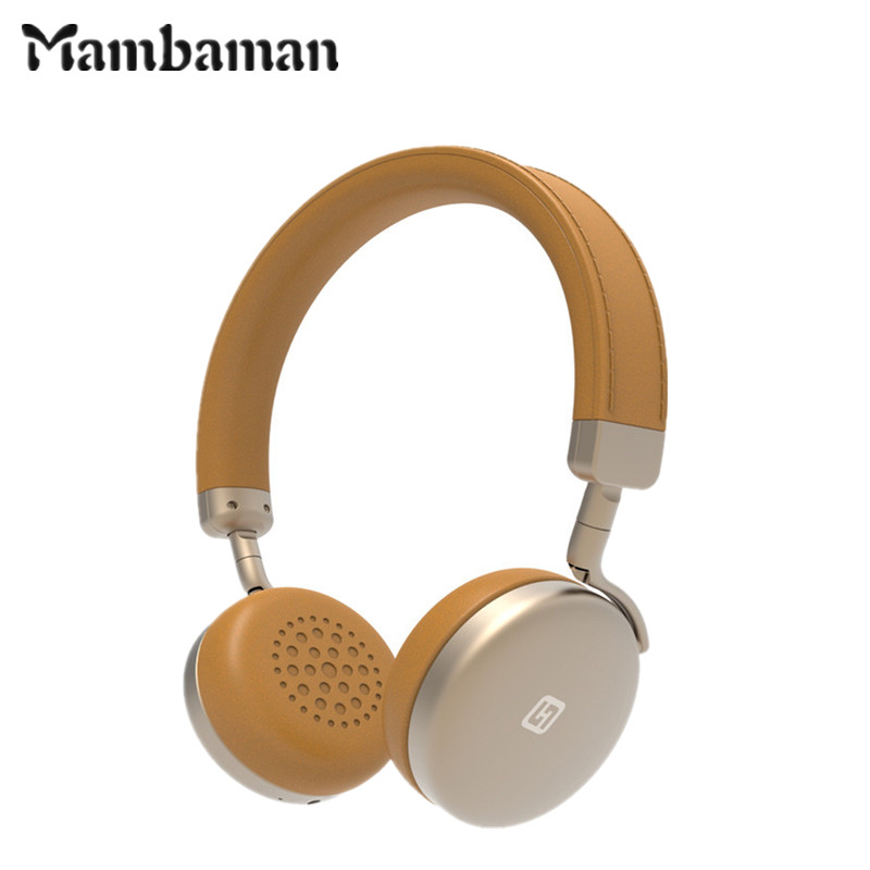 Mambaman MB-01 Bluetooth Stereo Headphones with Microphone Wireless Bluetooth Headset metal earphone for iPhone Samsung xiaomi hestia ex 01 bluetooth earphone car headphones with microphone auriculares wireless stereo headset audifonos for iphone 6 7 sony