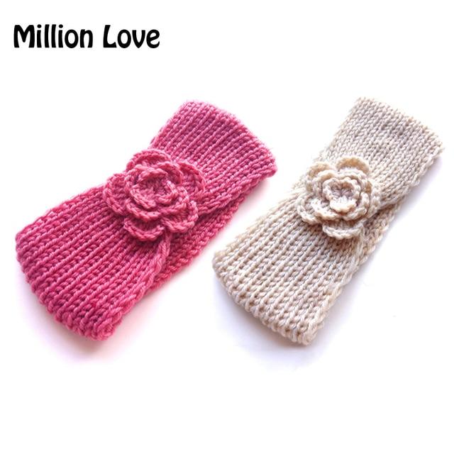 2017 Million Love Baby Kids Girl Crochet Headband Handmade Winter