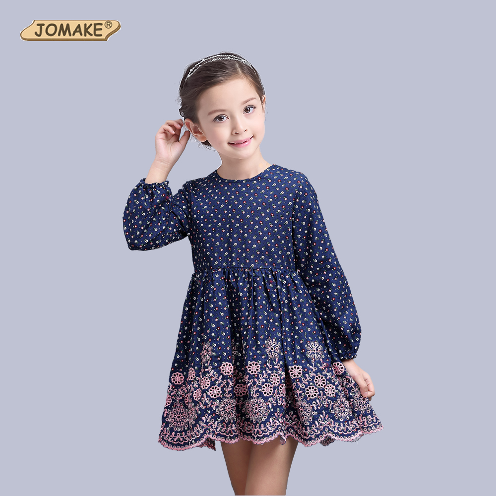 Flower Girls Dress Spring 2017 Children Clothing Brand Girls Clothes Kids Dresses For Girls Holiday Party
