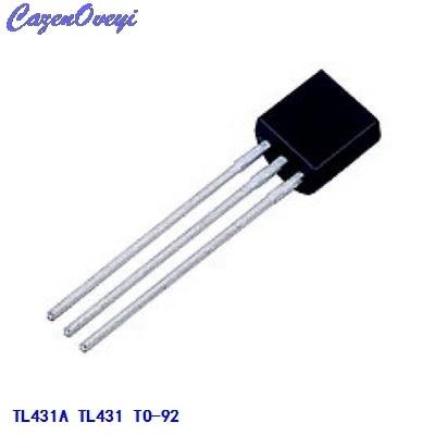50pcs/lot TL431A TL431 Voltage References 2.5-36V Prog Adjust TO-92 New Original In Stock