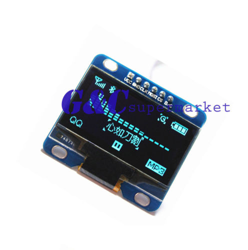 Blue 1.3 SPI Serial 128X64 OLED LCD LED Display Module