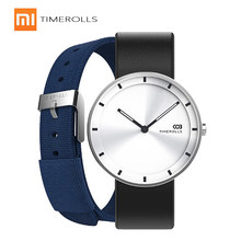 Xiaomi Mijiia TIMEROLLS-COB Quartz Wrist Watch Luminous Pointer Stainless Steel Water Resistant Watches Men Women Luxury Watches(China)