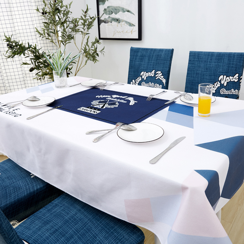 Image 5 - Parkshin Nordic Decorative Tablecloth Home Kitchen Rectangle Waterproof Table Cloths Party Banquet Dining Table Cover 4 Size-in Tablecloths from Home & Garden