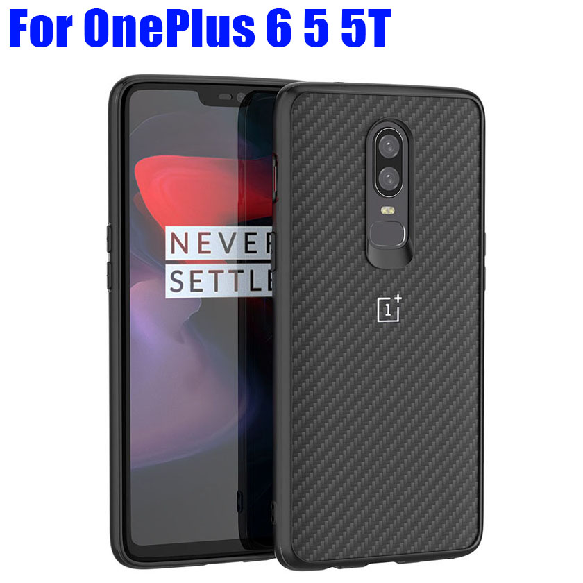 Case For Oneplus 6 5T Fashion Carbon Fiber Style TPU + PC Shockproof Cover For OnePlus 5 6 OP02Case For Oneplus 6 5T Fashion Carbon Fiber Style TPU + PC Shockproof Cover For OnePlus 5 6 OP02