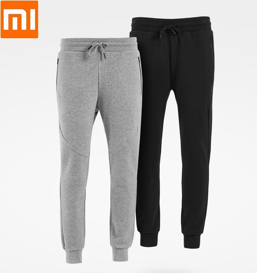 Xiaomi ULEEMARK male knitting Sports trousers Breathable running fitness pants casual pants for man