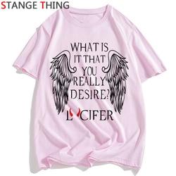 Szatan T Shirt mężczyźni/kobiety lucyfer Demon śmierci straszny zło satanizm Grim Reaper Baphomet T-shirt satanistycznych Tshirt mężczyzna/ damski top z krótkim rękawem 5