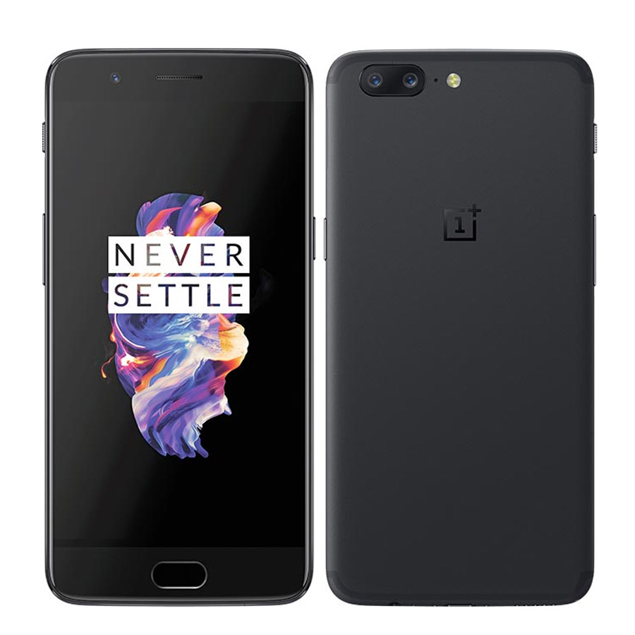Global Fimrware New OnePlus 5 Mobile Phone Snapdragon 835 8GB 128GB 5.5'' Octa Core 20MP 16.0MP NFC Fingerprint 4G LTE Phone
