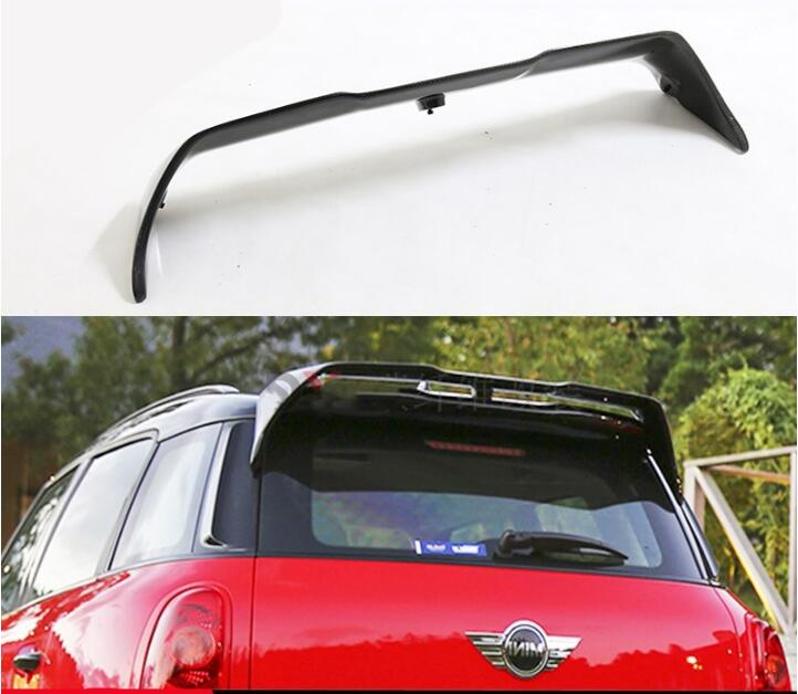Carbon fiber CAR REAR WING TRUNK SPOILER FOR MINI Countryman R60 2011 2012 2013 2014 2015 2016 2017 Fast by EMS