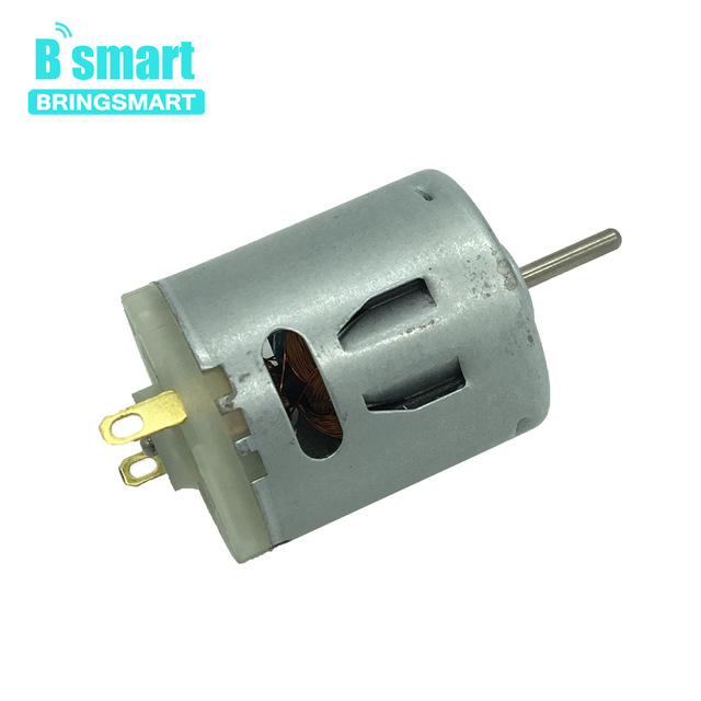 Bringsmart RS365 Micro DC High-speed Motor 7.2-24V Mini Electric Machine DC Motor 5000-19400rpm for Toys Hair dryer