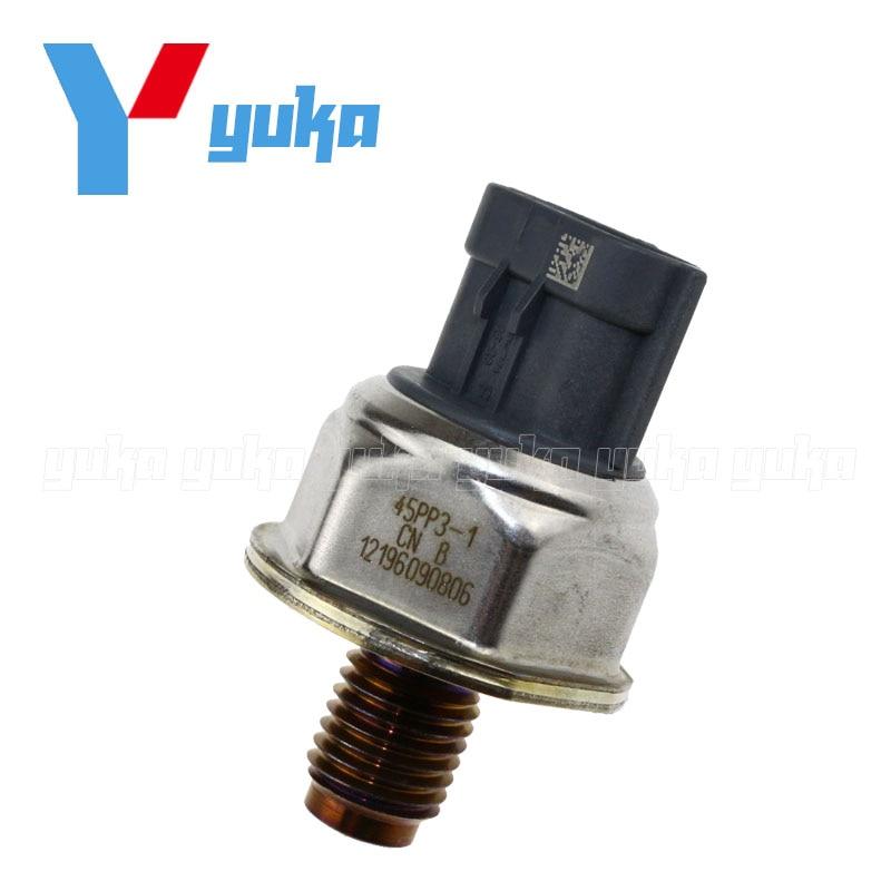 Original Diesel Fuel Rail High Pressure Sensor Common Injection Regulator Transducer For LAND ROVER DEFENDER 2.4 TD4 45PP3 1