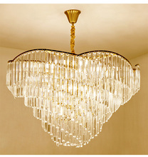 Modern chandelier living room lamps simple lighting atmosphere home lamp luxury bedroom European restaurant crystal