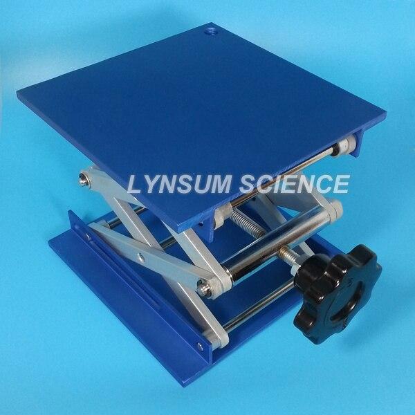 "Lift Kits For Less >> 4"" (10x10cm) Lab Jack Scissor Lift Elevator Support Stand Aluminum Oxide Jack Scissor-in ..."