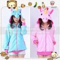 Adult Women My little pony Cosplay Jacket Coat Long sleeved Rainbow Dash Unicorn Costume Hoodies Sweatshirts in Spring Autumn
