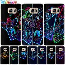 Fashion Marvel the Avengers Phone Case For Samsung S10 Lite S9 S8 Plus S7 S6 Edge J310 J330 J530 J2prime Ironman case cover Etui