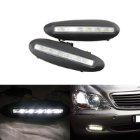 One Set Car Specific DRL Led Daytime Running Lights For Benz S Class W220 Before Facelift