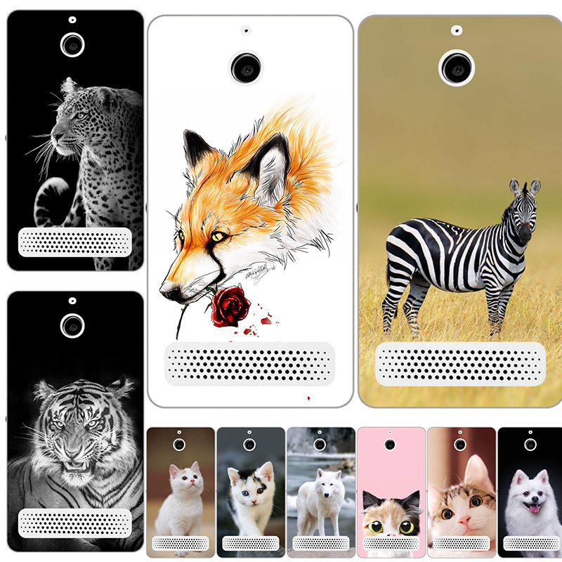 Fashion Soft Silicone Protect Case for <font><b>Sony</b></font> <font><b>Xperia</b></font> <font><b>E1</b></font> D2004 <font><b>D2005</b></font> Printing rabbit Scenery Cover Phone Back Shell Hot Selling image