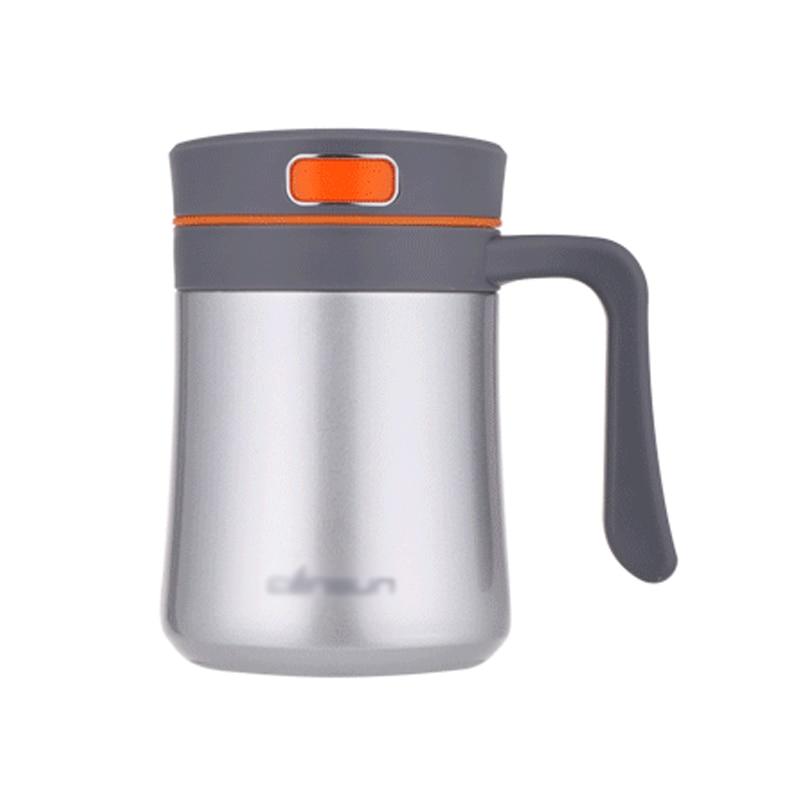 Colleer Taza de termo de acero inoxidable doble de 400 ml con - Cocina, comedor y bar