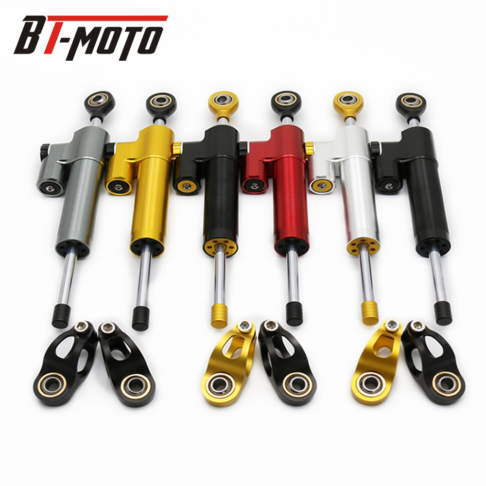 MT07 MT09 FZ MT 09 moto CNC Damper Steering StabilizerLinear Reversed Safety Control Over 600CC Bike for KTM Kawasaki SuzukiMT07 MT09 FZ MT 09 moto CNC Damper Steering StabilizerLinear Reversed Safety Control Over 600CC Bike for KTM Kawasaki Suzuki
